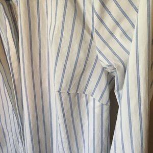 MICHAEL Michael Kors Tops - MICHAEL Michael Kors• Striped Top w/ Self-Tie Bow